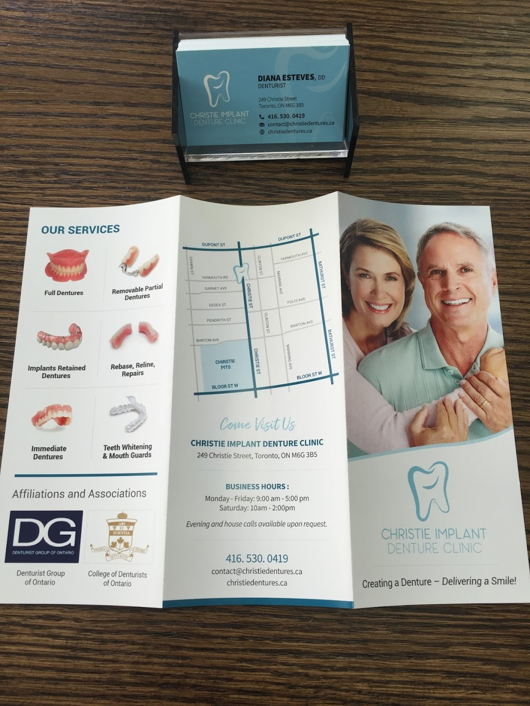 Christie Implant Denture Clinic | dentist | 249 Christie St, Toronto, ON M6G 3B8, Canada | 4165300419 OR +1 416-530-0419
