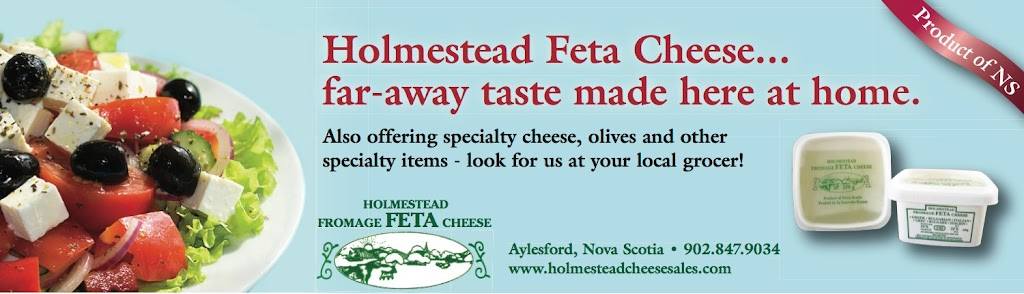 Holmestead Cheese Sales Inc.   store   2439 Harmony Rd, Aylesford, NS B0P 1C0, Canada   9028479034 OR +1 902-847-9034