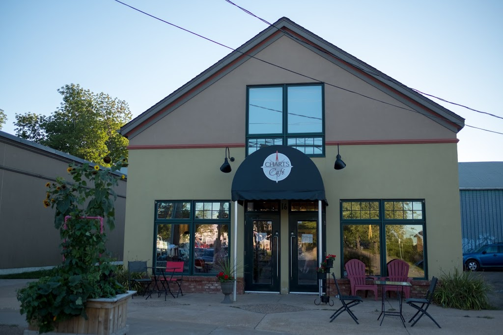 Charts Café | cafe | 16 Elm Ave, Wolfville, NS B4P 2S2, Canada | 9025420425 OR +1 902-542-0425