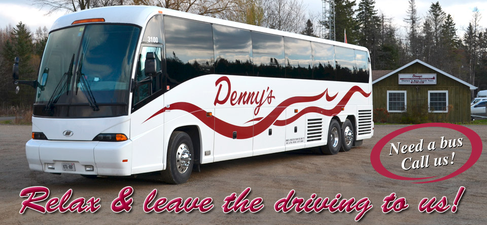 Dennys Bus Lines | point of interest | 5414 Fourth Line, Acton, ON L7J 2L8, Canada | 5198339117 OR +1 519-833-9117