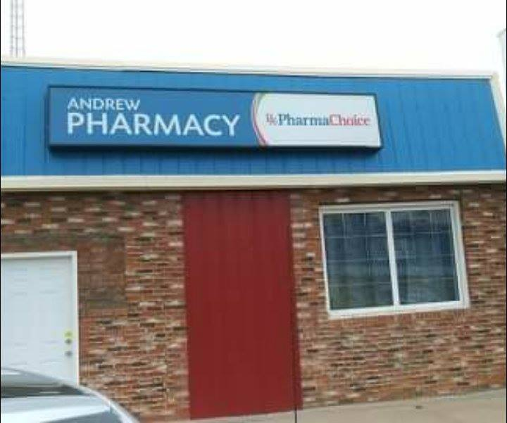 Andrew Pharmacy and Home Healthcare   health   5033 51 St #5011, Andrew, AB T0B 0C0, Canada   7803653832 OR +1 780-365-3832
