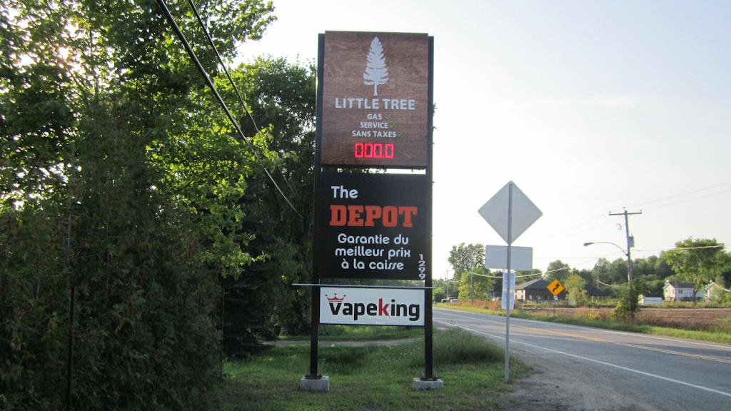 Little Tree Gas | store | 1299 Rang Ste Philomène, Oka, QC J0N 1E0, Canada | 5148055327 OR +1 514-805-5327