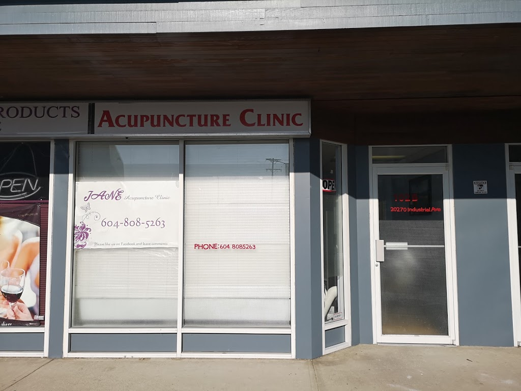 Jane Acupuncture Clinic | health | 20270 Industrial Ave #102b, Langley City, BC V3A 4K7, Canada | 6048085263 OR +1 604-808-5263