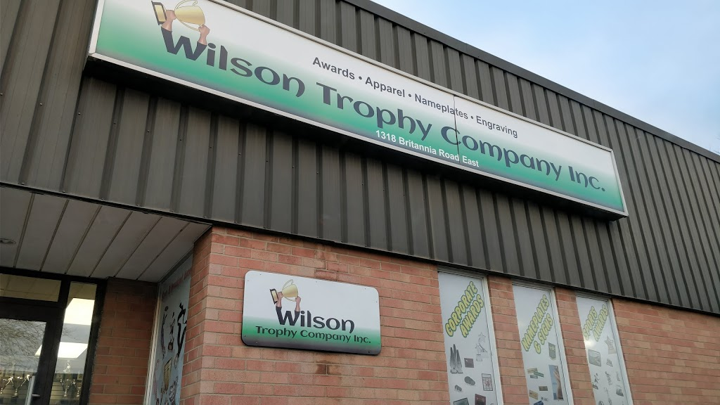 Wilson Trophy Co Inc | store | 1318 Britannia Rd E, Mississauga, ON L4W 1C8, Canada | 8003873138 OR +1 800-387-3138