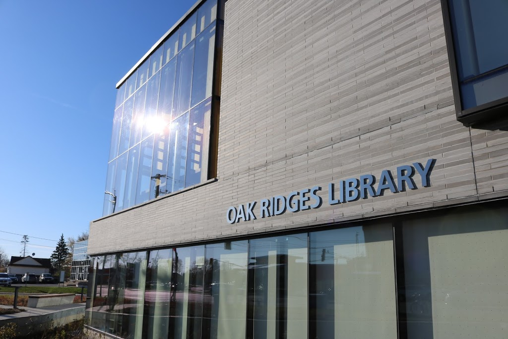 Richmond Hill Public Library - Oak Ridges Library | library | 34 Regatta Ave, Richmond Hill, ON L4E 4R1, Canada | 9057735533 OR +1 905-773-5533