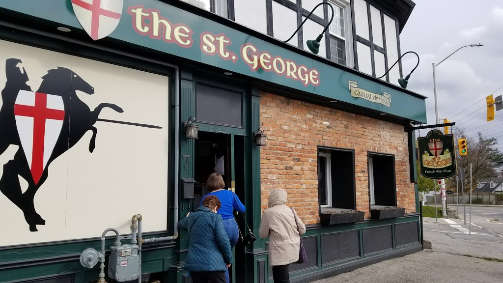 The St. George Pub | restaurant | 7 Main St N, Georgetown, ON L7G 3G9, Canada | 9058730555 OR +1 905-873-0555