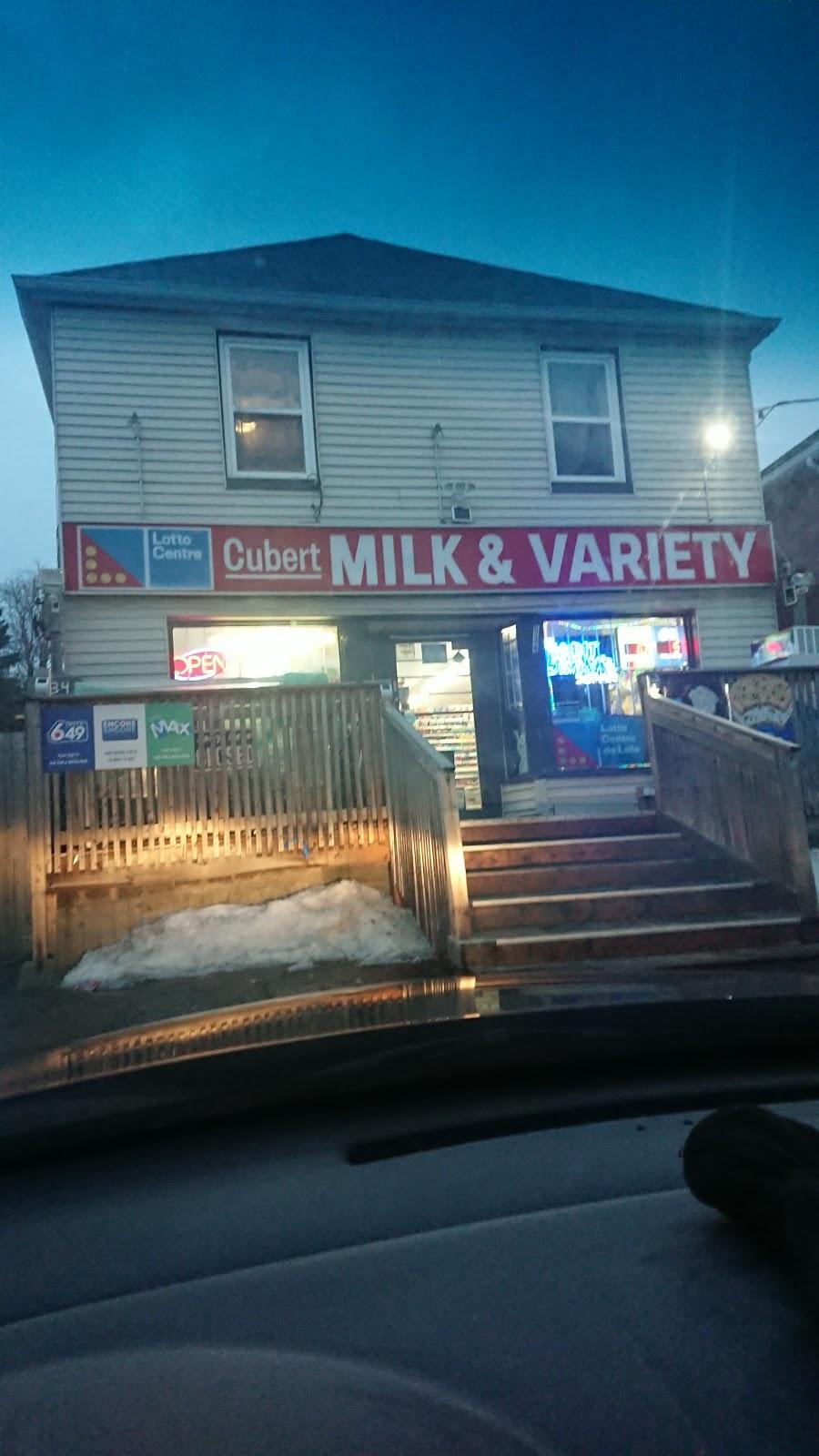 Cubert Milk & Variety | convenience store | 534 Cubert St, Oshawa, ON L1J 4B5, Canada | 9055792500 OR +1 905-579-2500