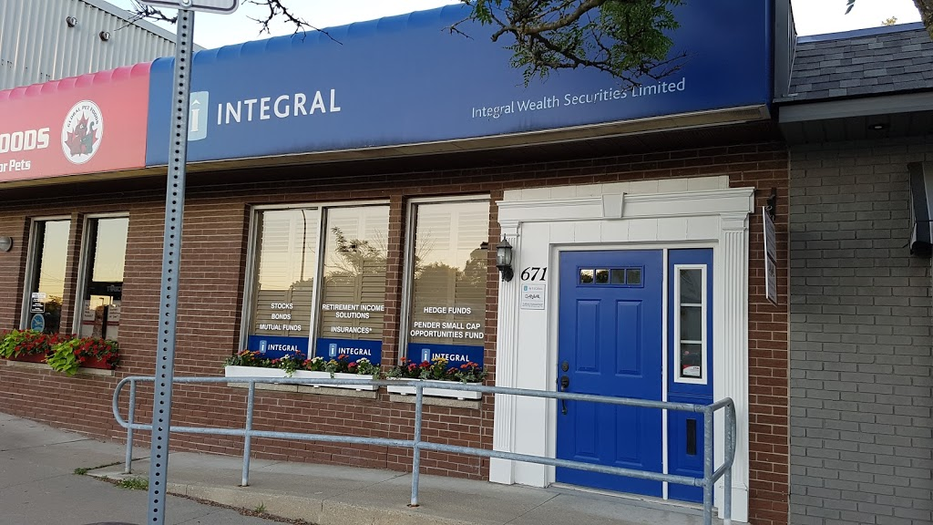 Integral Wealth Securities | health | 671 Belmont Ave W, Kitchener, ON N2M 1N8, Canada | 5197441240 OR +1 519-744-1240