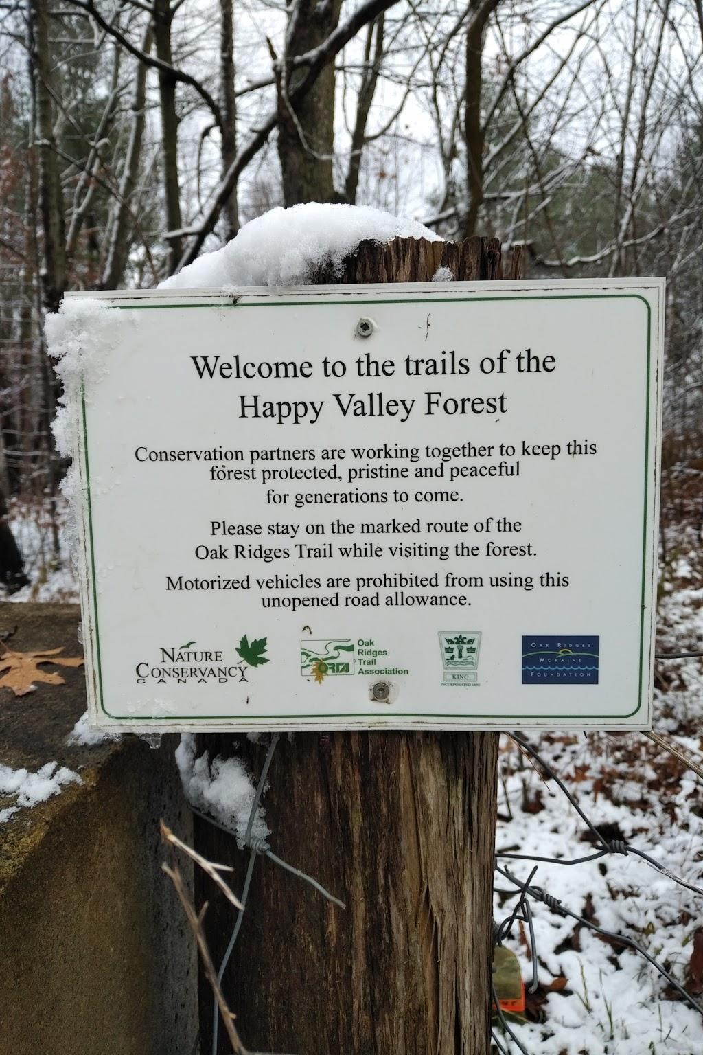 Humber Source Woods | park | Oak Ridges Trail, King City, ON L7B 1K4, Canada