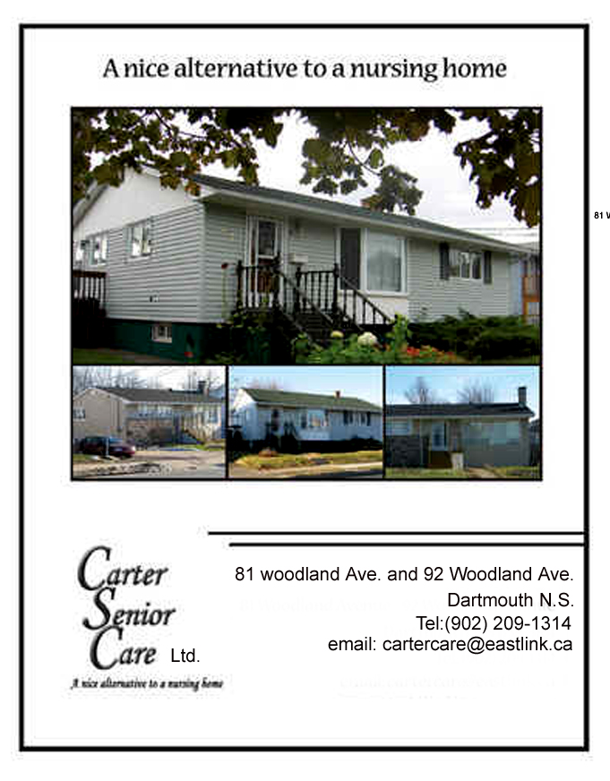 Carter Senior Care | health | 81 Woodland Ave, Dartmouth, NS B3A 3K4, Canada | 9022091314 OR +1 902-209-1314