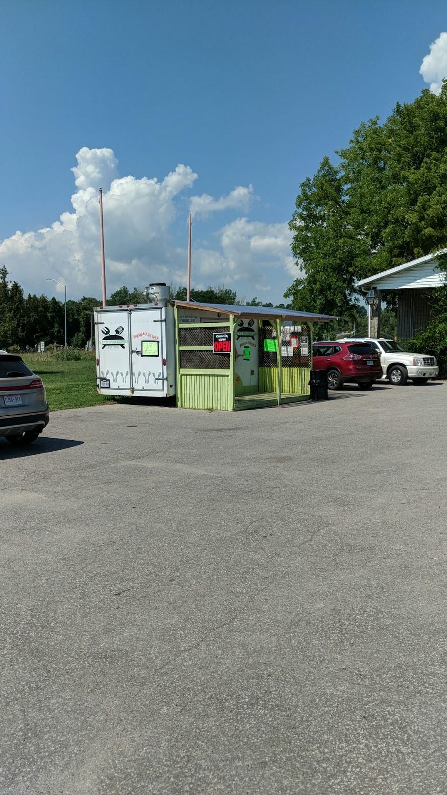 Izzys Chip Truck   restaurant   Cramahe, ON K0K 1S0, Canada   9053768168 OR +1 905-376-8168