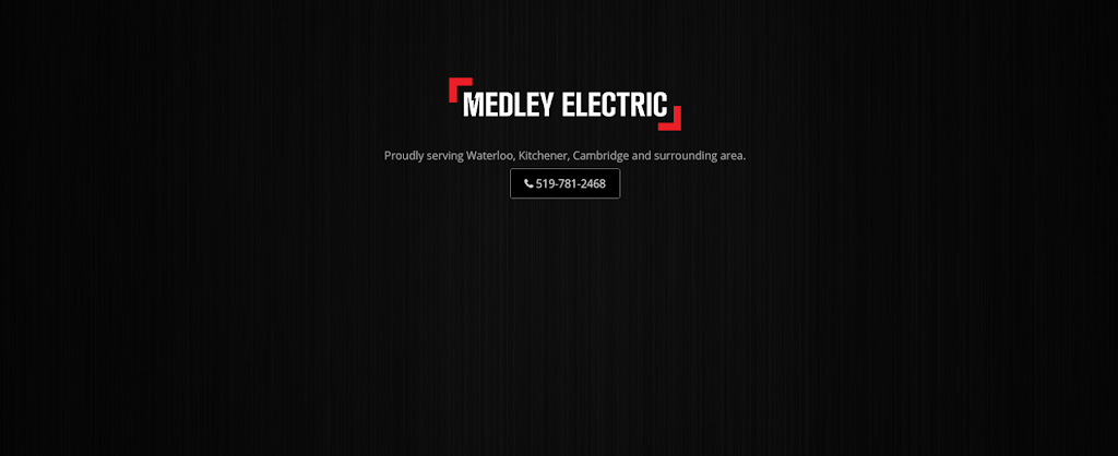 Medley Electric | electrician | 165 Margaret Ave S, Waterloo, ON N2J 2E3, Canada | 5197812468 OR +1 519-781-2468