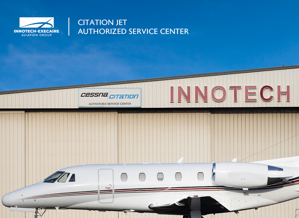 Innotech-Execaire Aviation Group | point of interest | 2450 Derry Road East - Hangar 7, Mississauga, ON L5S 1B2, Canada | 9056772484 OR +1 905-677-2484