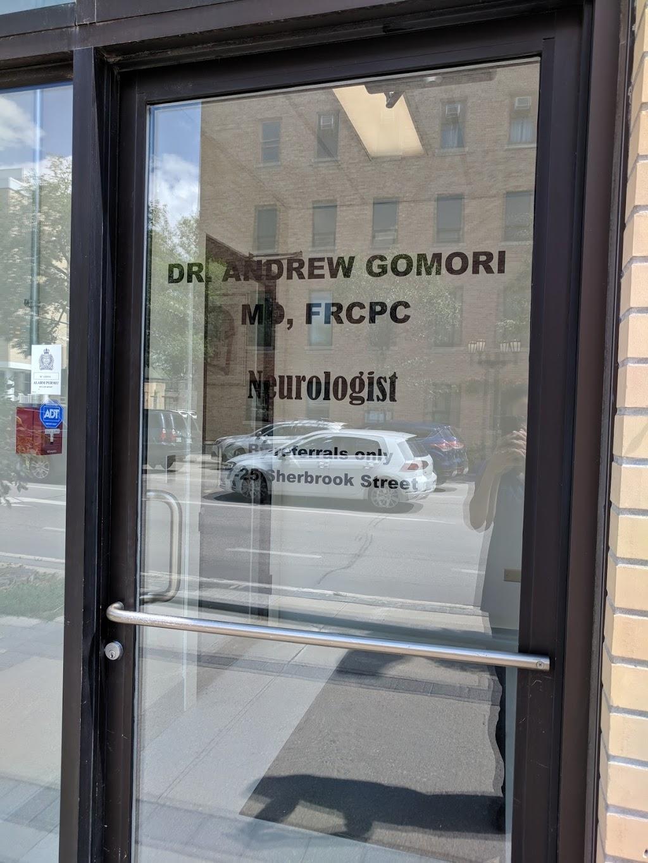 Andrew J Gomori MD Neurologist | doctor | 25 Sherbrook St #7, Winnipeg, MB R3C 2B1, Canada | 2049427815 OR +1 204-942-7815