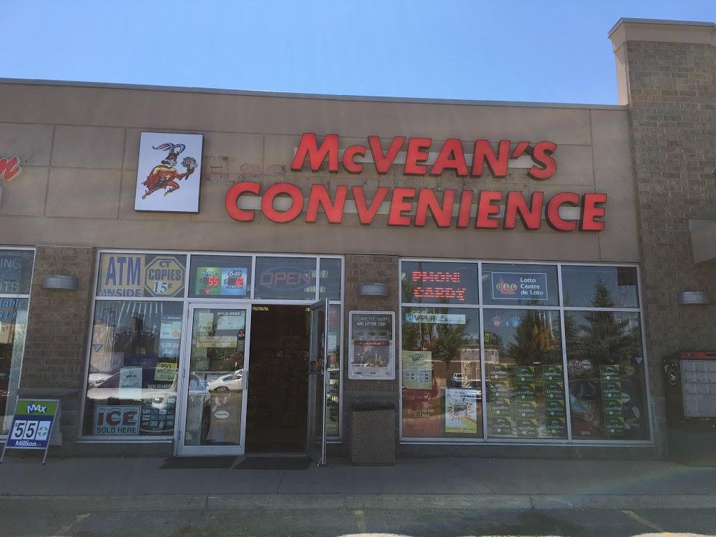 McVeans Convenience | convenience store | 9960 McVean Dr #9, Brampton, ON L6P 2S5, Canada | 9057899490 OR +1 905-789-9490