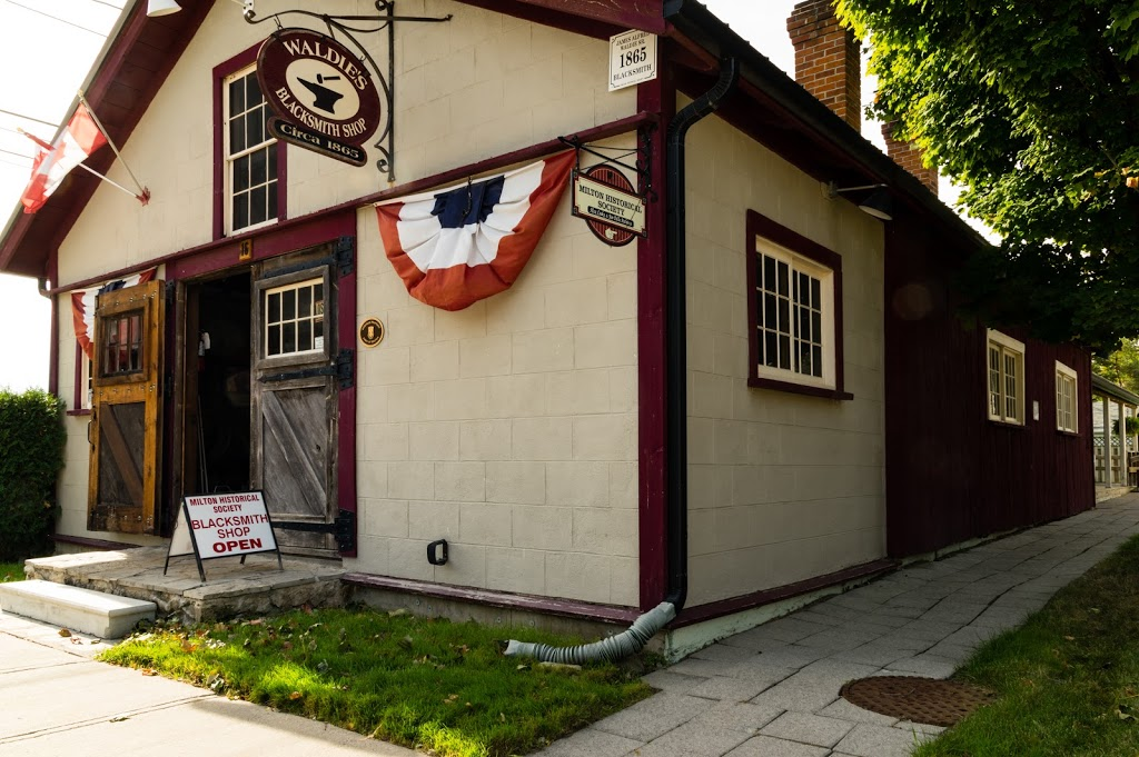 Milton Historical Society Waldie Black-Smith Shop | museum | 16 James St, Milton, ON L9T 2P4, Canada | 9058754156 OR +1 905-875-4156