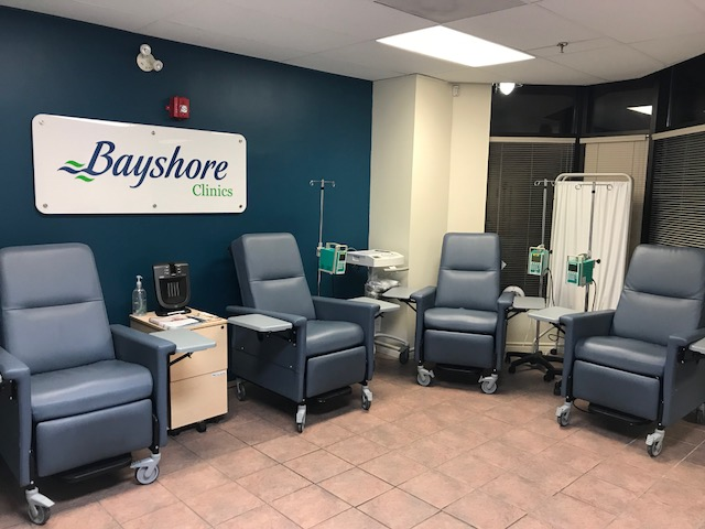 Bayshore Infusion Clinic | health | 1 Mary St N unit c, Oshawa, ON L1G 7W8, Canada | 8772357798 OR +1 877-235-7798