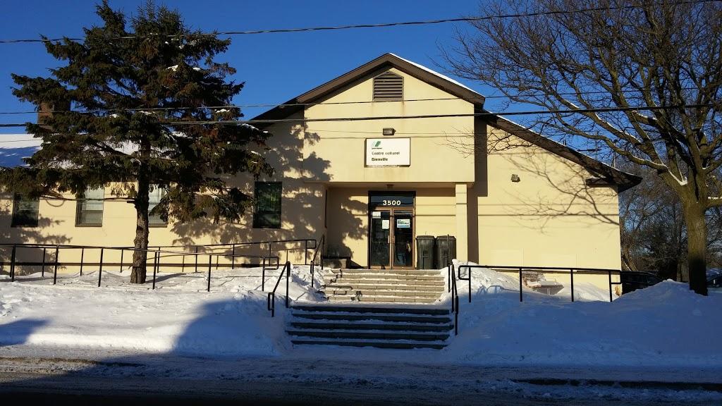 Centre culturel Bienville   point of interest   3500 Boulevard Mountainview, Saint-Hubert, QC J3Y 5N5, Canada   4504457769 OR +1 450-445-7769