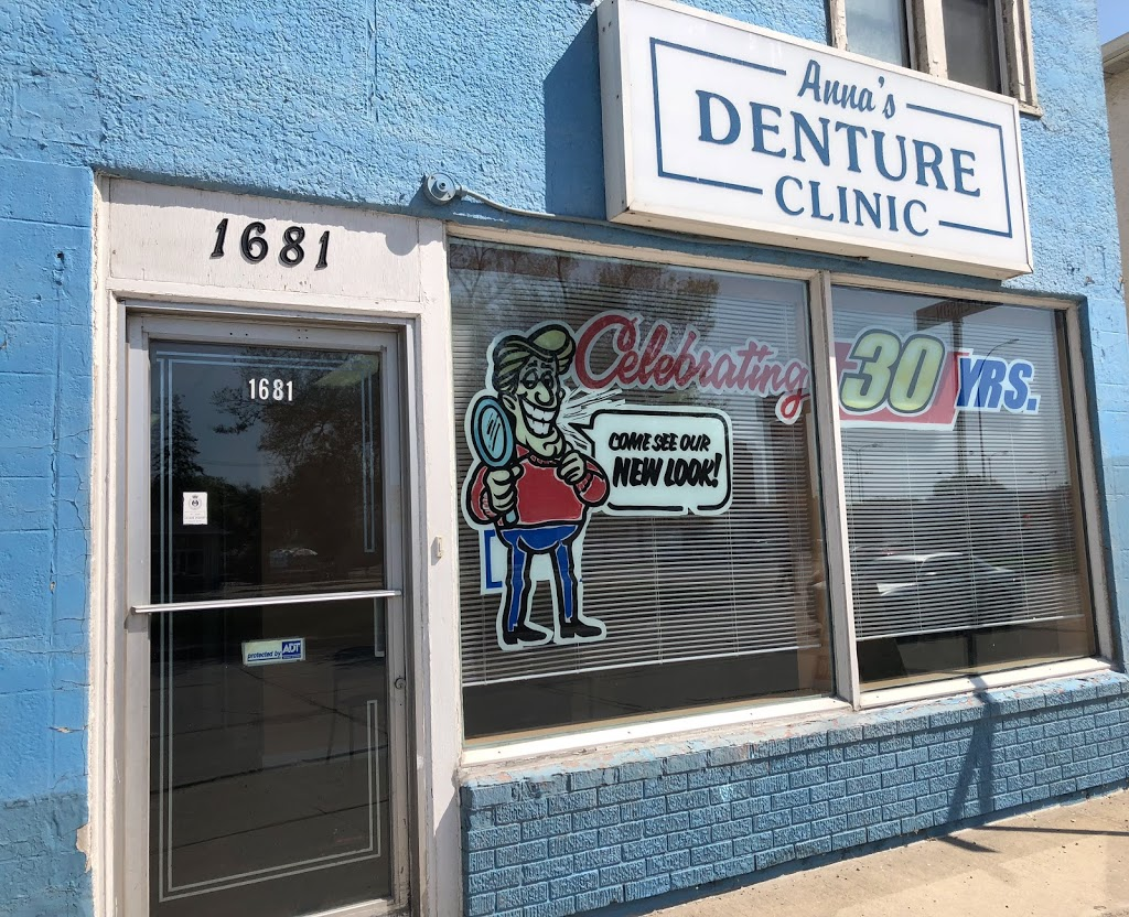 Annas Denture Clinic | health | 1681 Main St, Winnipeg, MB R2V 1Z1, Canada | 2043392422 OR +1 204-339-2422