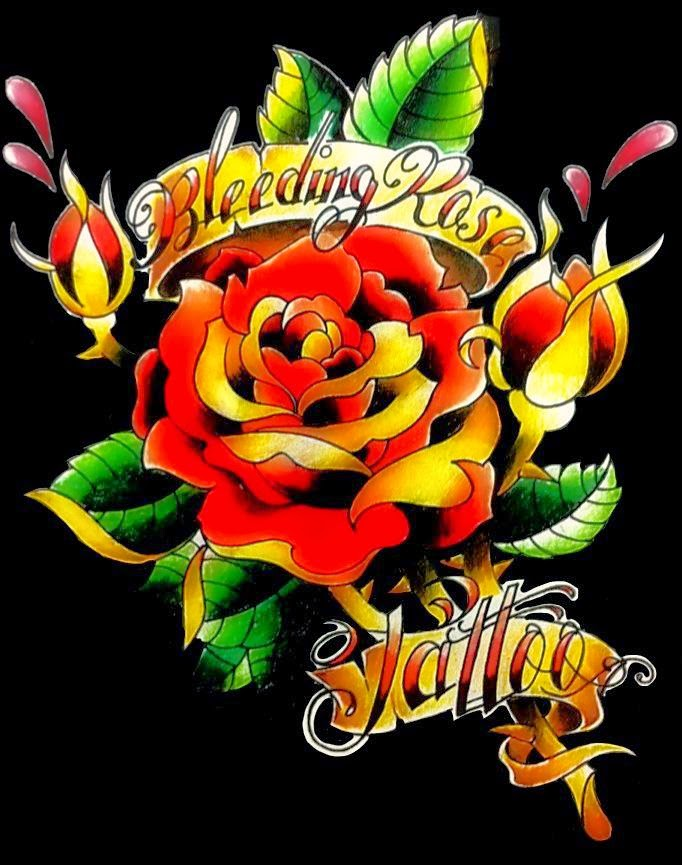 Bleeding Rose Tattoo | store | 310 16 Ave NW, Calgary, AB T2M 0H6, Canada | 4032101080 OR +1 403-210-1080