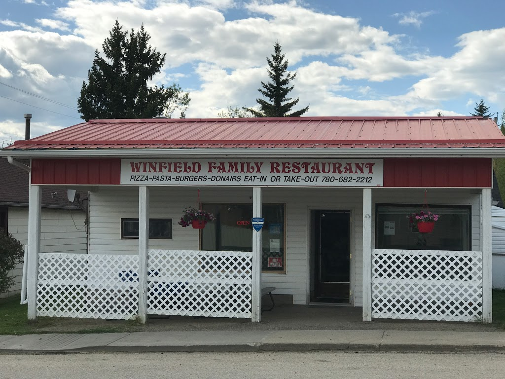 Winfield Family Restaurant | restaurant | Centre St, Winfield, AB T0C 2X0, Canada | 7806822212 OR +1 780-682-2212