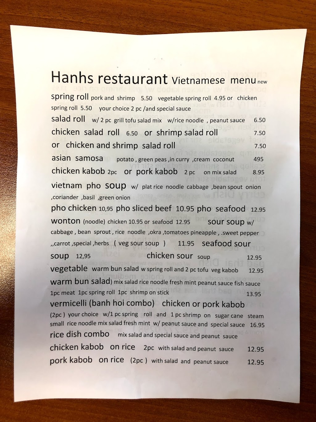Hanh S Kitchen 332 Erie St Stratford On N5a 2n2 Canada