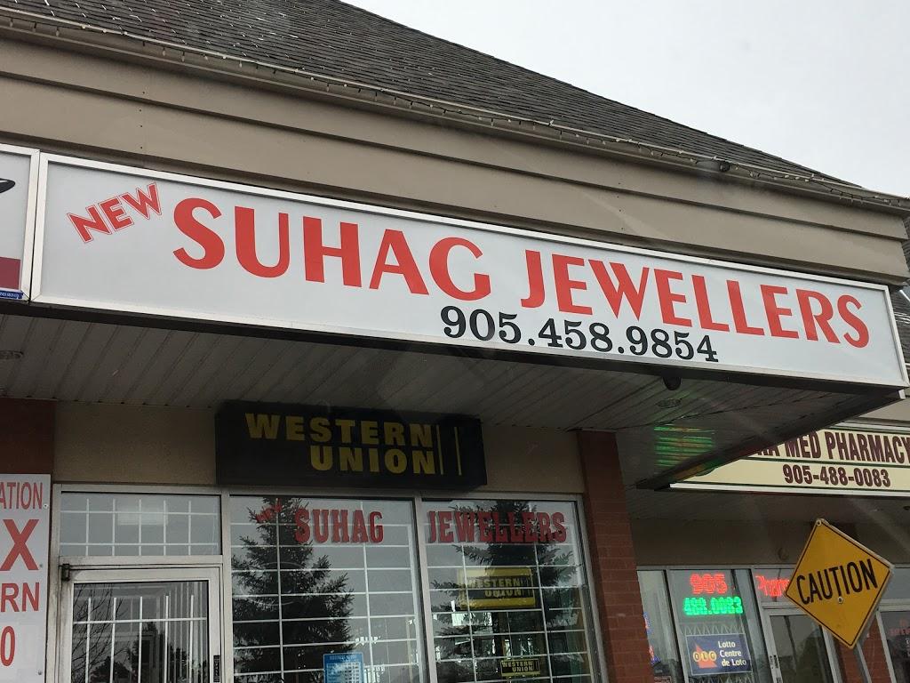 Suhaag Jewellers | jewelry store | 31 Steeplebush Ave #5, Brampton, ON L6R 2K4, Canada | 9054589854 OR +1 905-458-9854