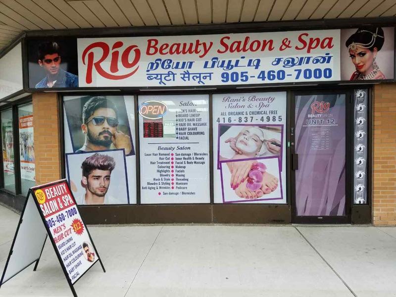 Rio Beauty Salon Spa Skincare 1 Wexford Rd 12 Brampton On L6z 2w1 Canada