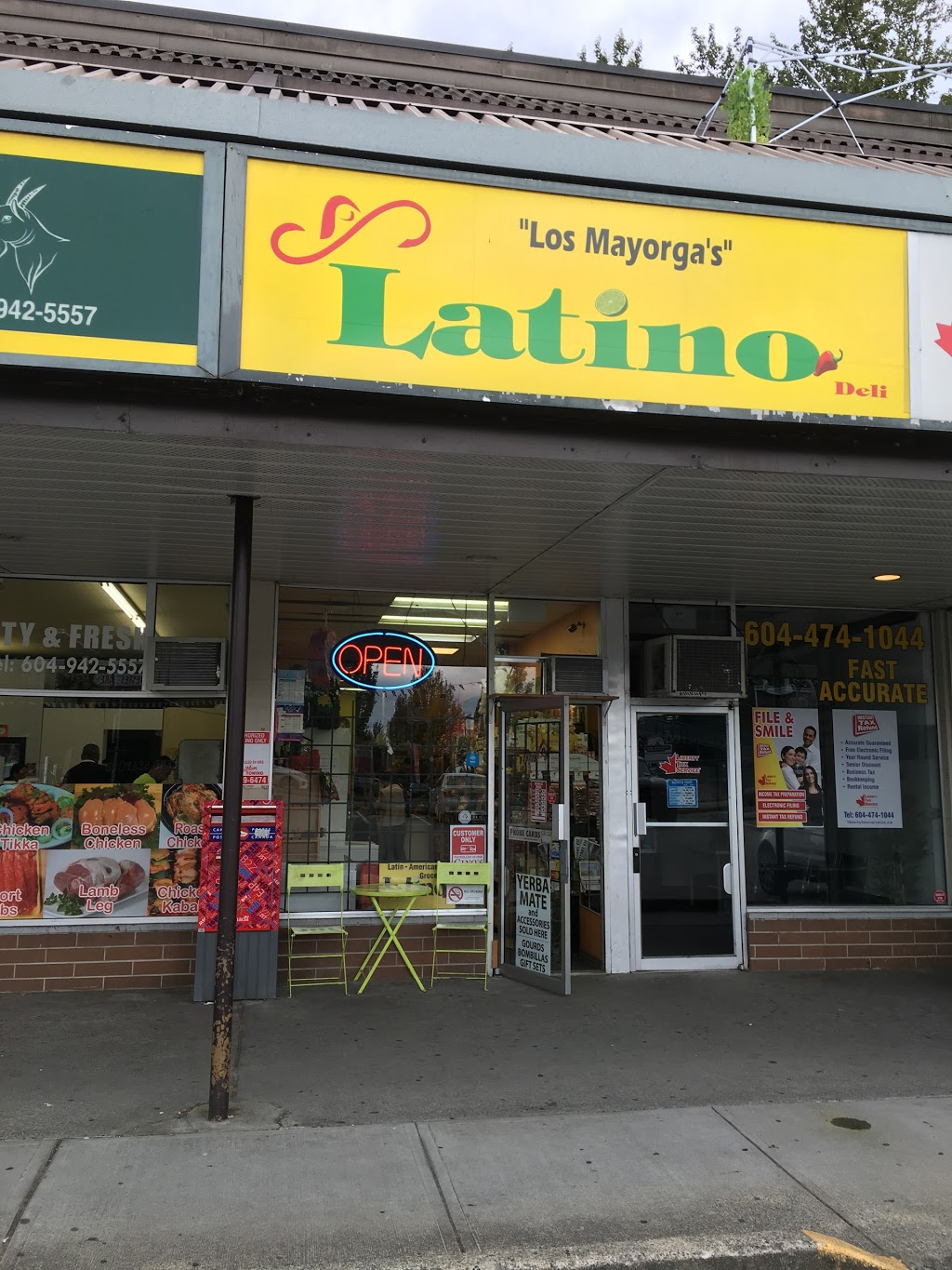 Latino Deli | store | 2875 Shaughnessy St, Port Coquitlam, BC V3C 3H1, Canada | 6044729966 OR +1 604-472-9966