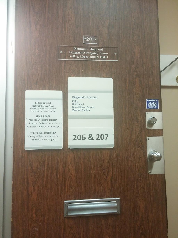 Bathurst-Sheppard Diagnostic Imaging Centre   health   4430 Bathurst St #207, North York, ON M3H 3S3, Canada   4162266941 OR +1 416-226-6941