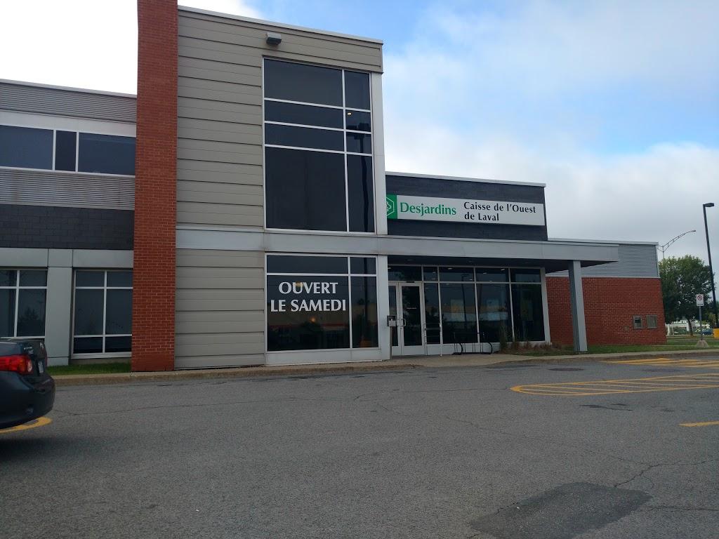 Caisse Desjardins de lOuest de Laval | bank | 440 Autoroute Chomedey, Laval, QC H7X 3S9, Canada | 4509621800 OR +1 450-962-1800