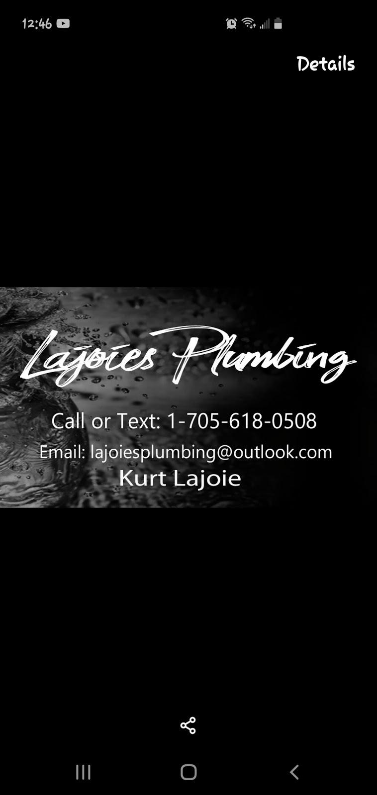 Lajoies Plumbing   plumber   455 Otterbein Rd, Kitchener, ON N2B 3V8, Canada   5197212698 OR +1 519-721-2698