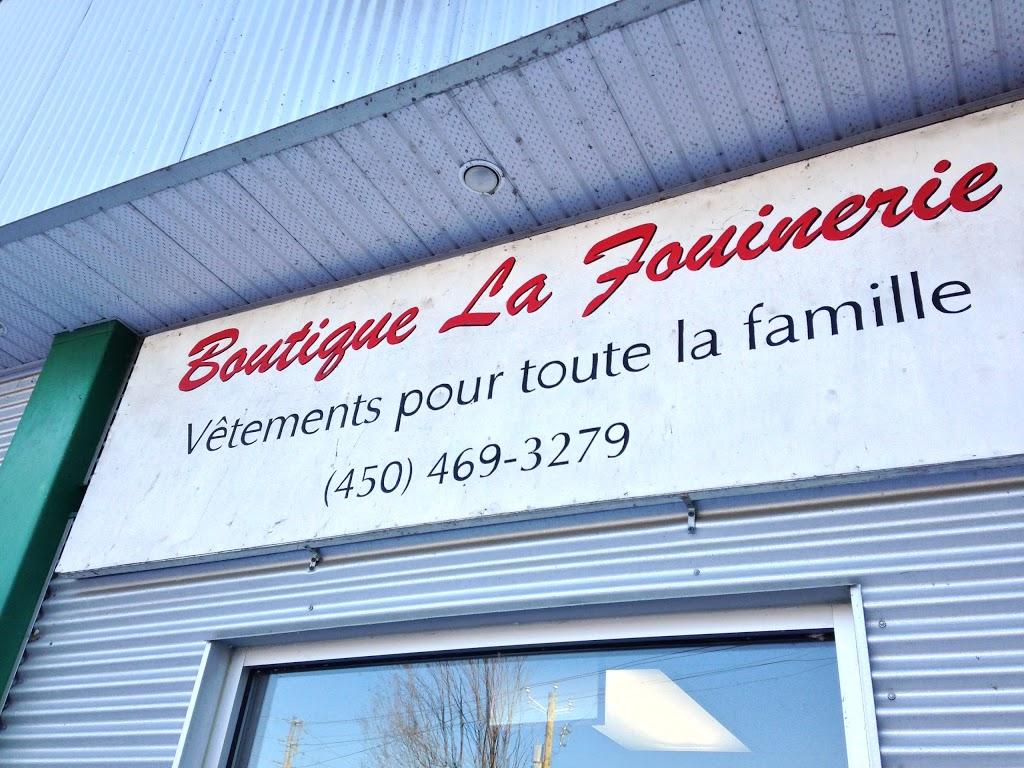 Boutique La Fouinerie | store | 3 Rue du Pont, Saint-Césaire, QC J0L 1T0, Canada | 4504691522 OR +1 450-469-1522