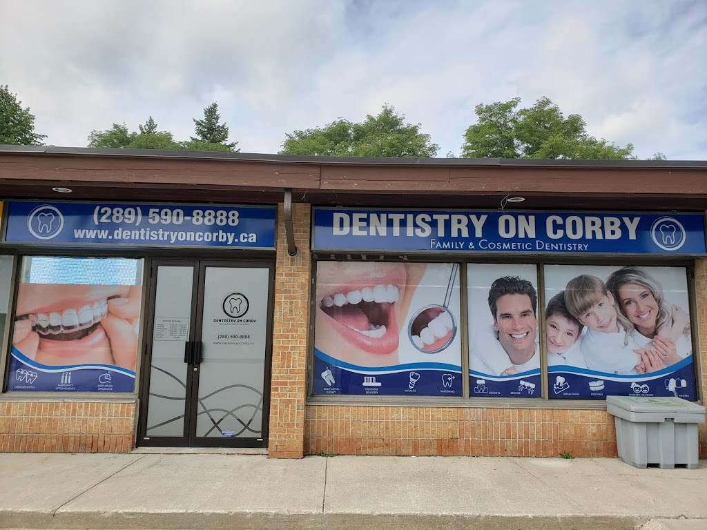 Dentistry On Corby | dentist | 2 Corby Rd Unit #2, Markham, ON L3R 8A9, Canada | 2895908888 OR +1 289-590-8888
