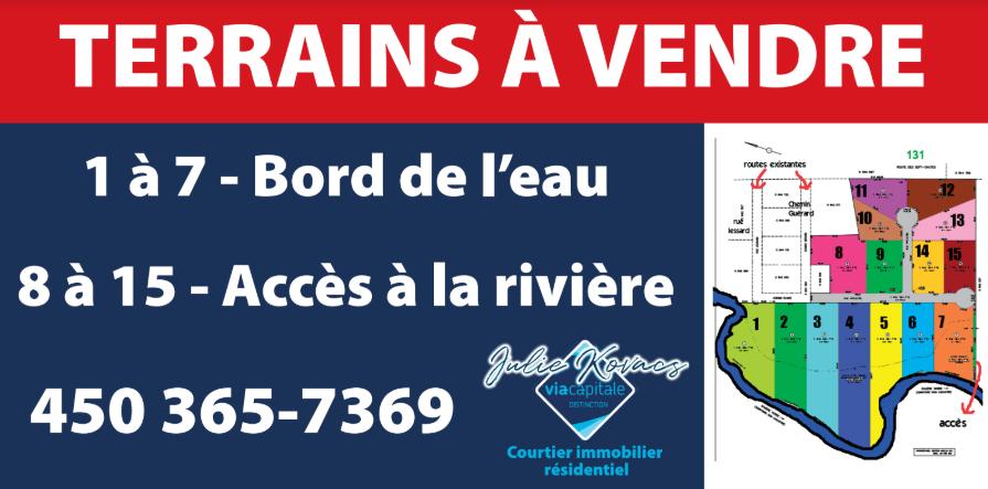 Terrains Lanaudière   point of interest   5206 Rue Principale, Saint-Félix-de-Valois, QC J0K 2M0, Canada   4504219888 OR +1 450-421-9888