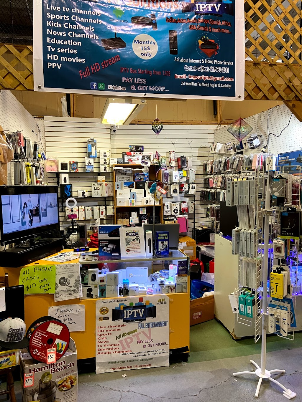 PT Solutions   electronics store   261 Hespeler Rd, Cambridge, ON N1R 3H8, Canada   6476808341 OR +1 647-680-8341
