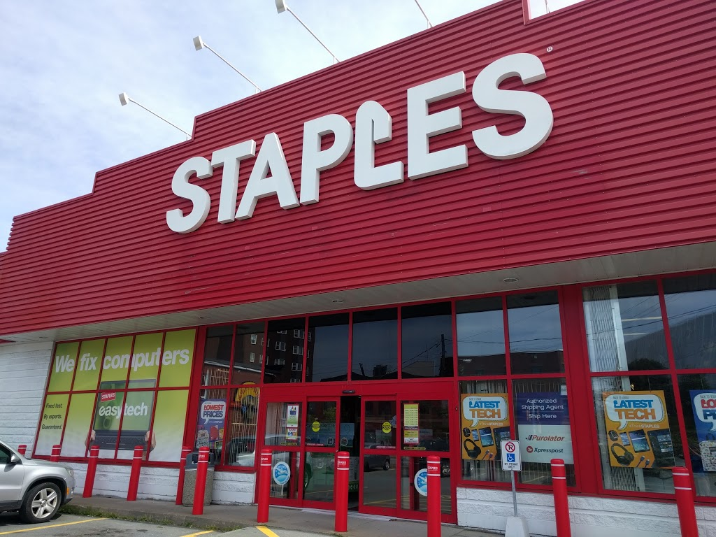 Staples | electronics store | 2003 Gottingen St, Halifax, NS B3K 3B1, Canada | 9024745100 OR +1 902-474-5100