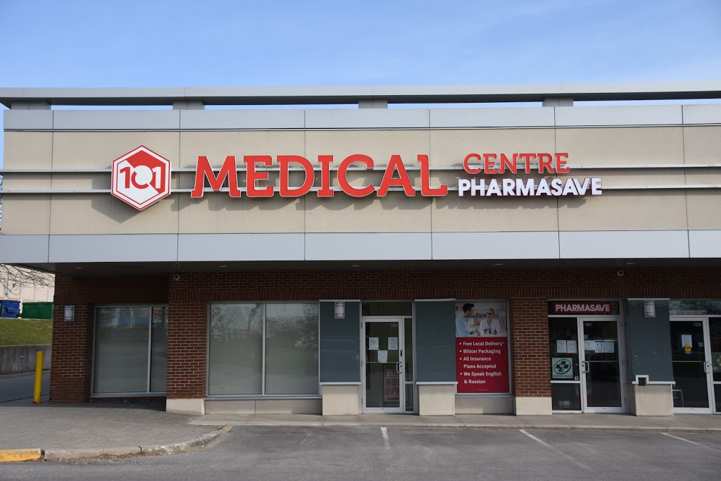 Pharmasave 101 Medical Pharmacy   health   1520 Steeles Ave W #101B, Concord, ON L4K 3B9, Canada   9055974433 OR +1 905-597-4433