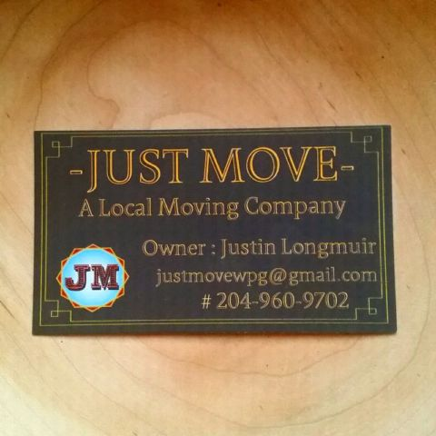 Just Move Winnipeg | moving company | 918 Dudley Ave, Winnipeg, MB R3M 1S4, Canada | 2049609702 OR +1 204-960-9702