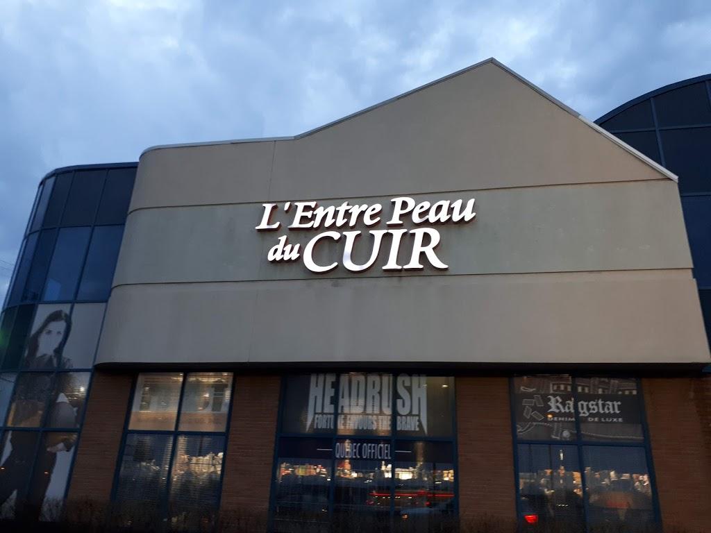 LEntre-Peau du Cuir | clothing store | 1100 Rue Bouvier, Québec, QC G2K 1L9, Canada | 4186275032 OR +1 418-627-5032