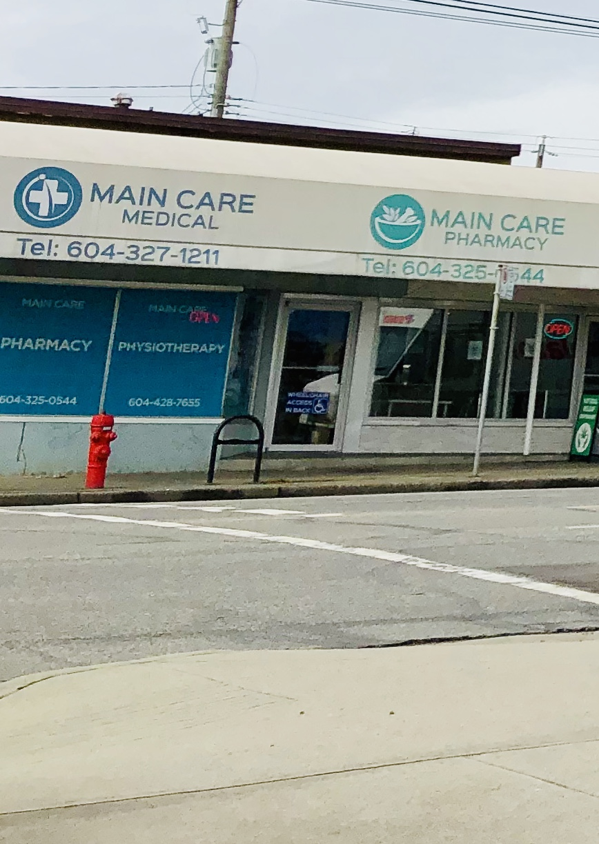Main Care Medical Clinic   doctor   7297 Main St, Vancouver, BC V5X 3J3, Canada   6043254907 OR +1 604-325-4907