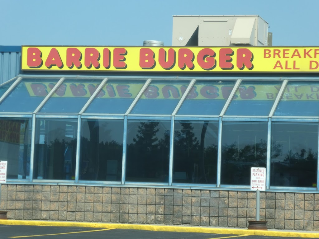 Barrie Burger Dunlop | restaurant | 404 Dunlop St W, Barrie, ON L4N 1C2, Canada | 7057220660 OR +1 705-722-0660