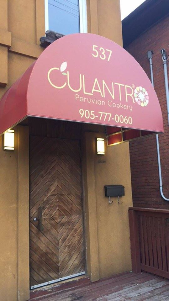 Culantro Peruvian Cookery | restaurant | 537 Main St E, Hamilton, ON L8M 1H9, Canada | 9057770060 OR +1 905-777-0060