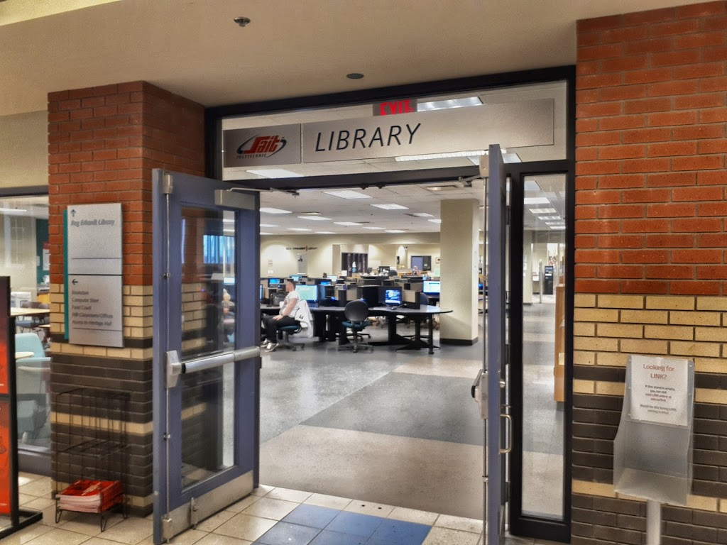 Reg Erhardt Library at SAIT | library | MC111, Stan Grad Centre, Southern Alberta Institute of Technology, 1301 16 Ave NW, Calgary, AB T2M 0L4, Canada | 4032848616 OR +1 403-284-8616