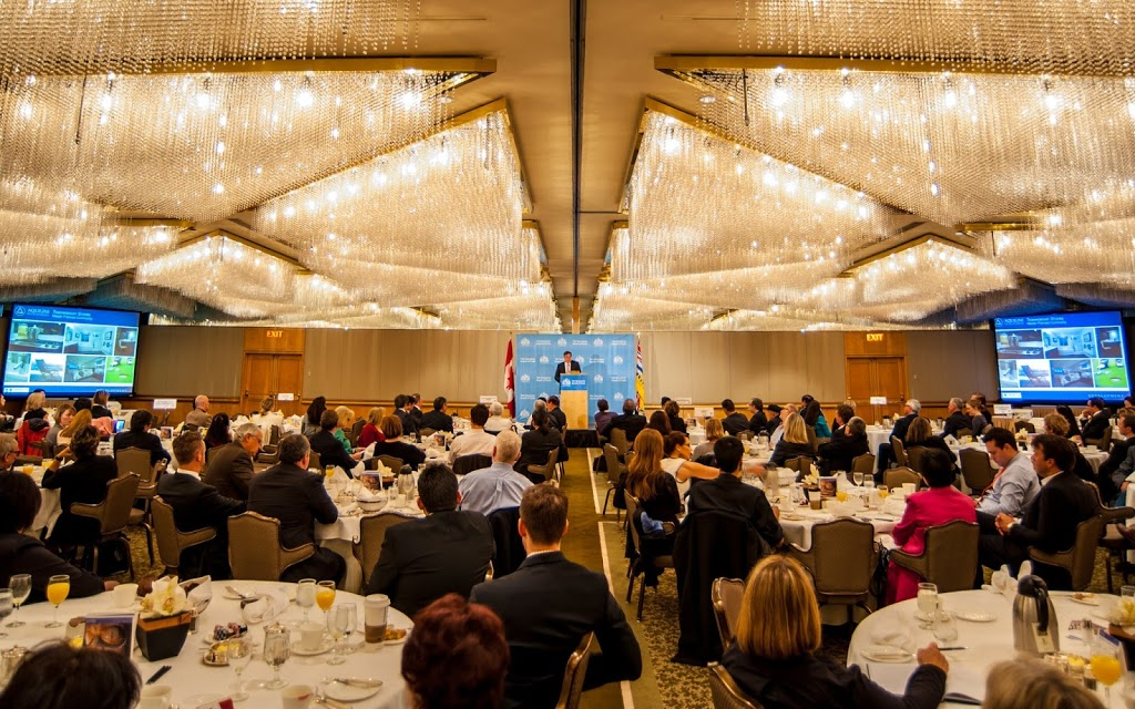 Greater Vancouver Board of Trade | point of interest | 400-999 Canada Pl, Vancouver, BC V6C 3E1, Canada | 6046812111 OR +1 604-681-2111