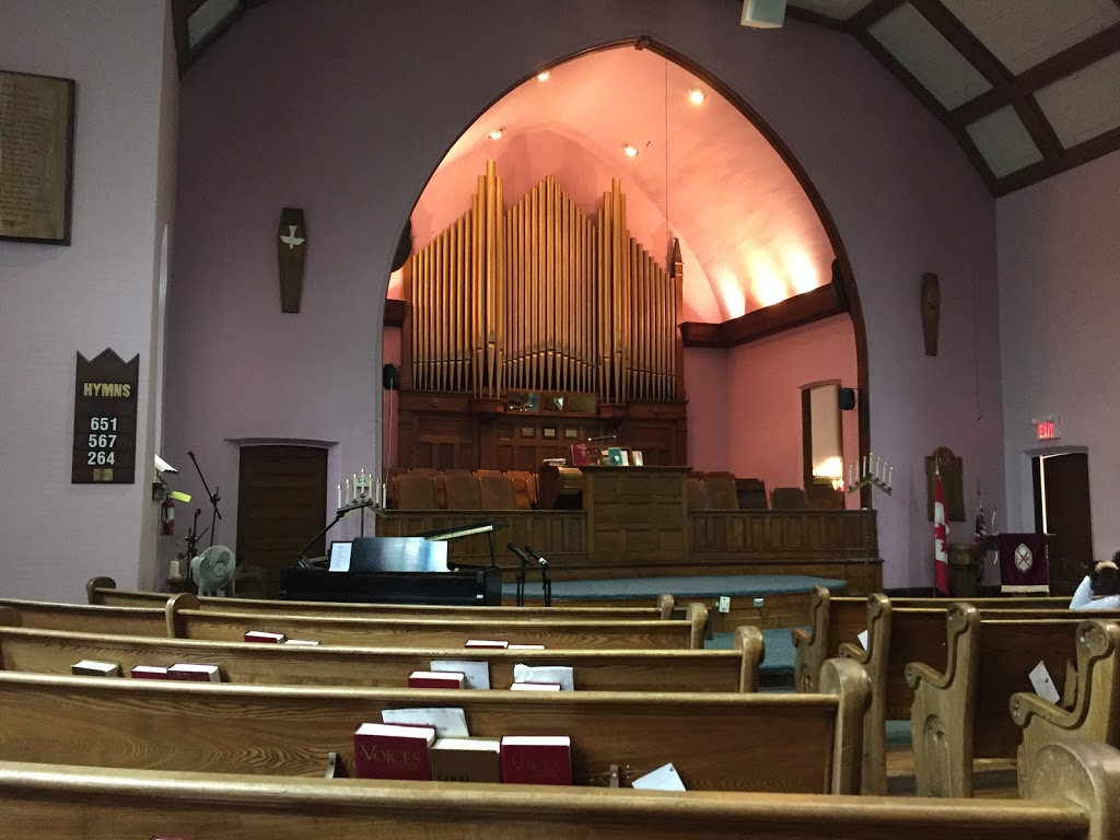 Coldwater United Church | point of interest | 14 Harriet St, Coldwater, ON L0K 1E0, Canada | 7056867787 OR +1 705-686-7787