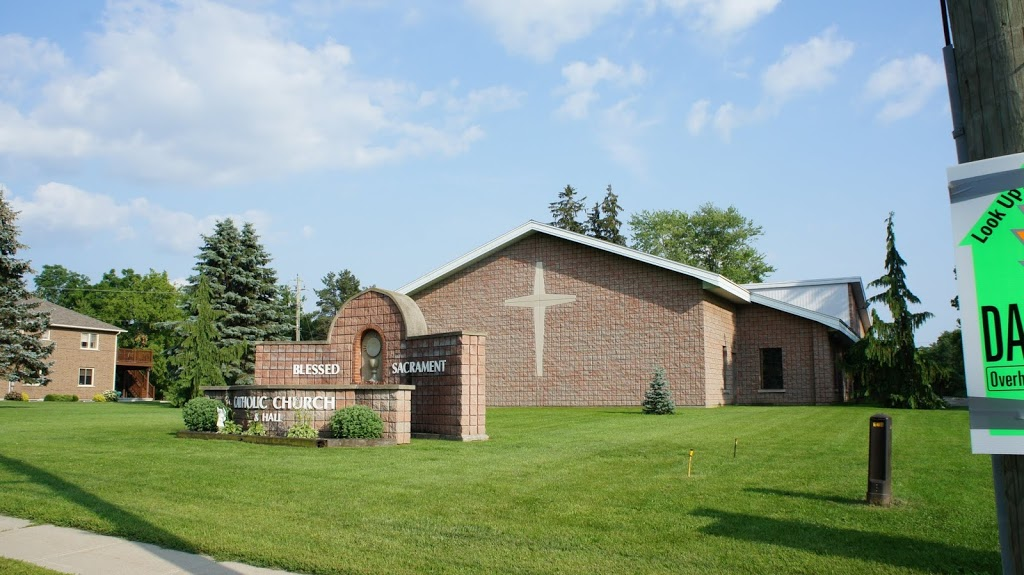 Blessed Sacrament Parish Hall | point of interest | 181 King St, Burford, ON N0E 1A0, Canada | 5194492811 OR +1 519-449-2811