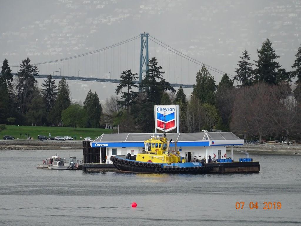 Chevron   store   Coal Harbour Marine, Vancouver, BC, Canada   6046817725 OR +1 604-681-7725