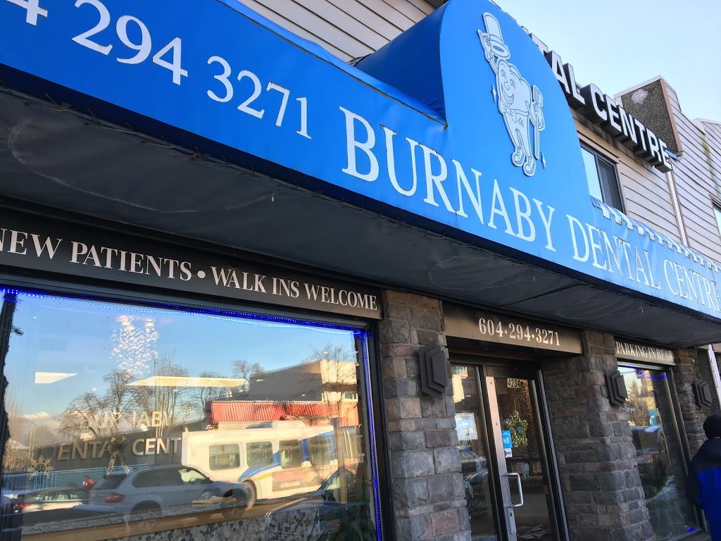 Burnaby Dental Centre | dentist | 4234 Hastings St, Burnaby, BC V5C 2J5, Canada | 6042943271 OR +1 604-294-3271