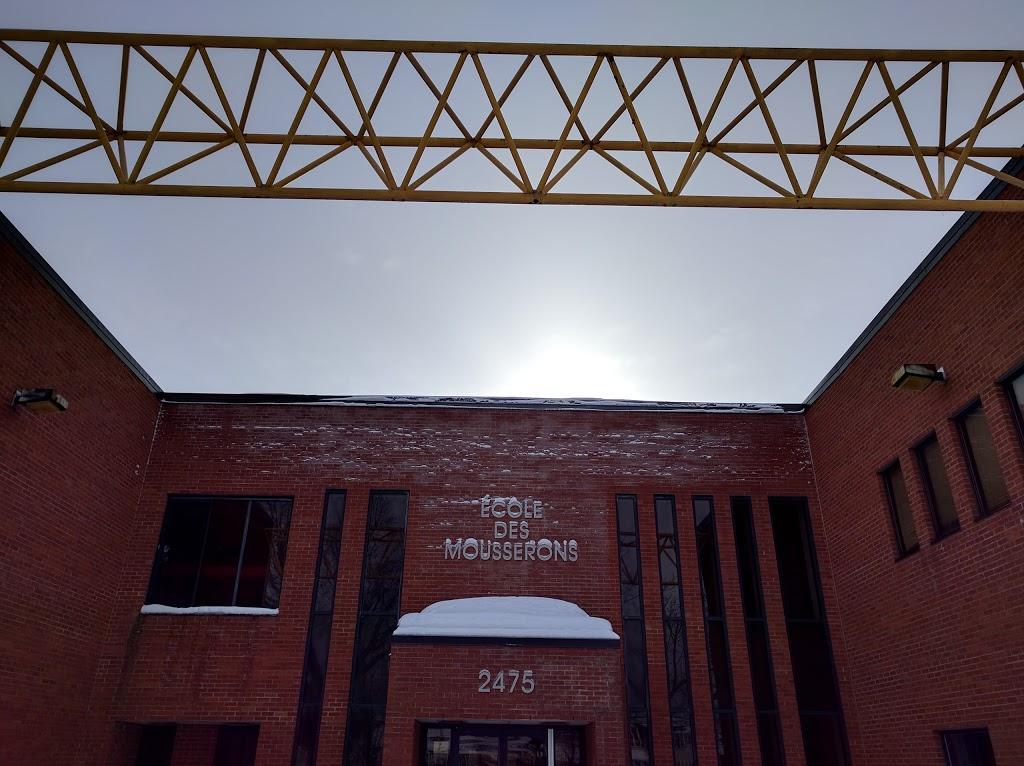 École Des Mousserons | school | 2475 Chemin Vanier, Lévis, QC G6Z 1Z6, Canada | 4188394179 OR +1 418-839-4179